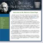 Einstein Zone - Web Site Development