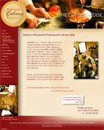 Professional Culinary Institute - Site Design